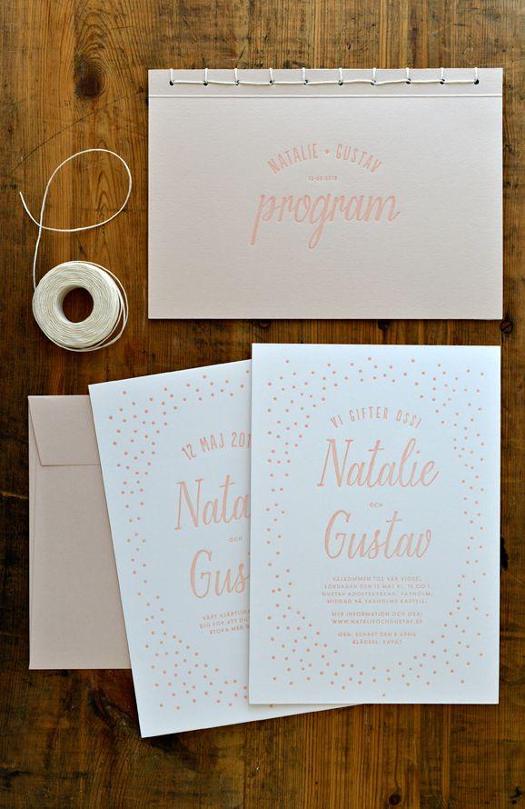 Bröllopsidentitet – Natalie & Gustav - Cecilia Börjesson