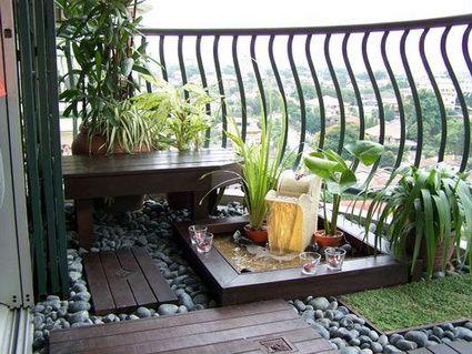 10 balcones urbanos con mucho estilo Balconies, Interior garden - Ideas Con Mucho Estilo