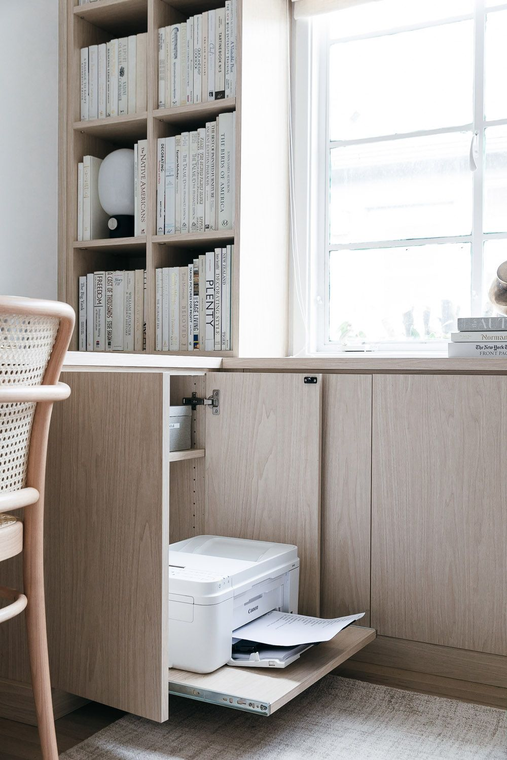 Anne Sage Reveals Her Home Office Makeover  Rue  Home office