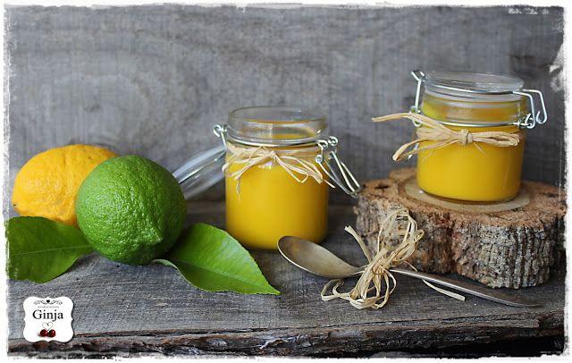 As várias faces da Ginja: Lemon curd