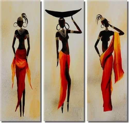 Cuadros Africanos Modernos a ARS 425. Cuadros Hogar, Muebles y ...