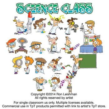 science class cartoon clipart vol 1 science clipart for