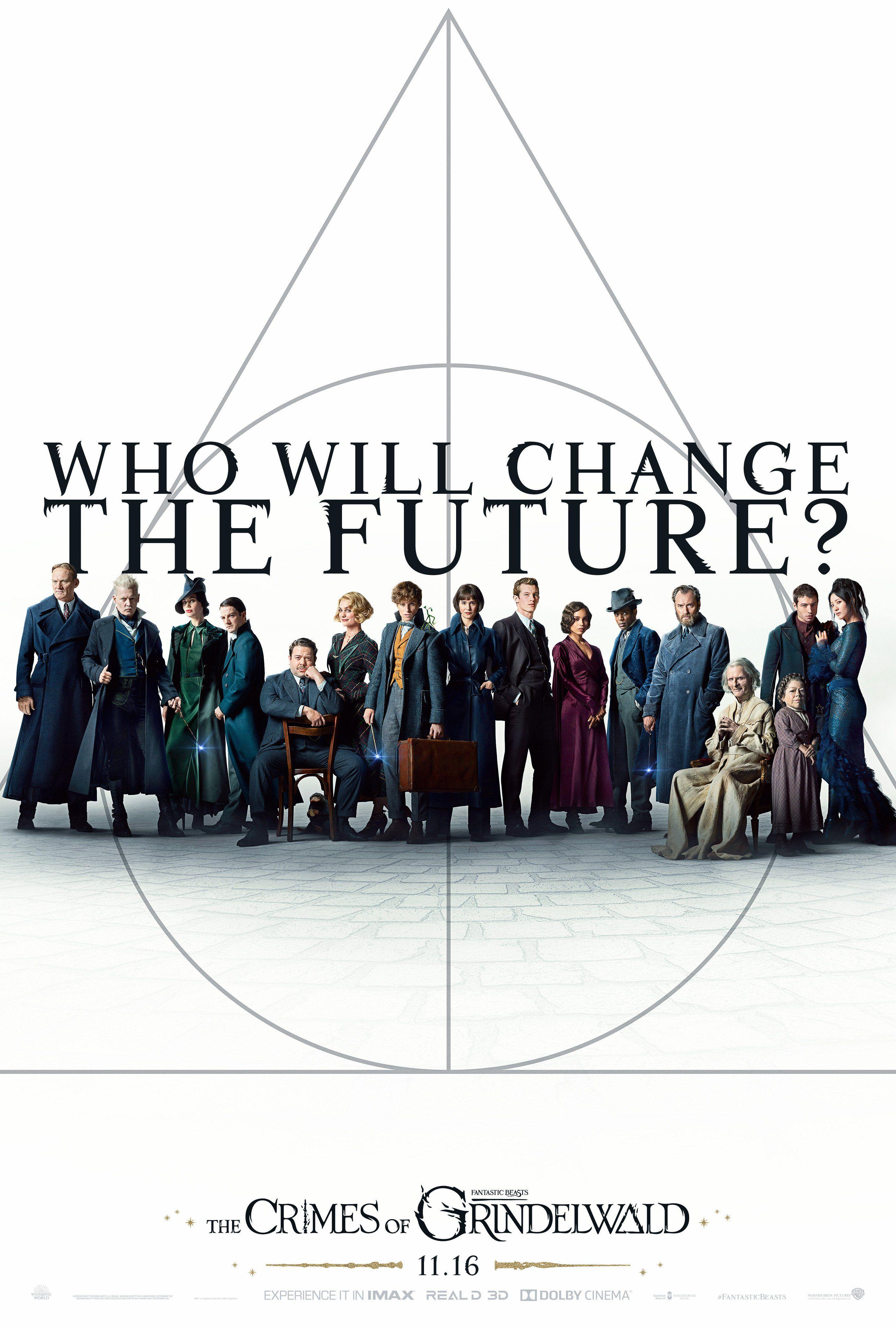 Fantastic Beasts The Crimes Of Grindelwald Poster Bestas