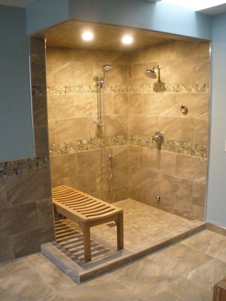 I like the tile pattern. Divine Bathroom Kitchen Laundry #Steam ...