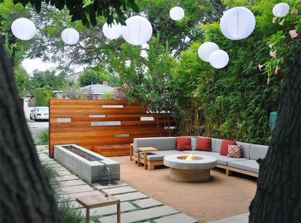 Landscape Architecture By Mark Tessier Small Backyard Landscaping Modern Backyard Design Modern Backyard