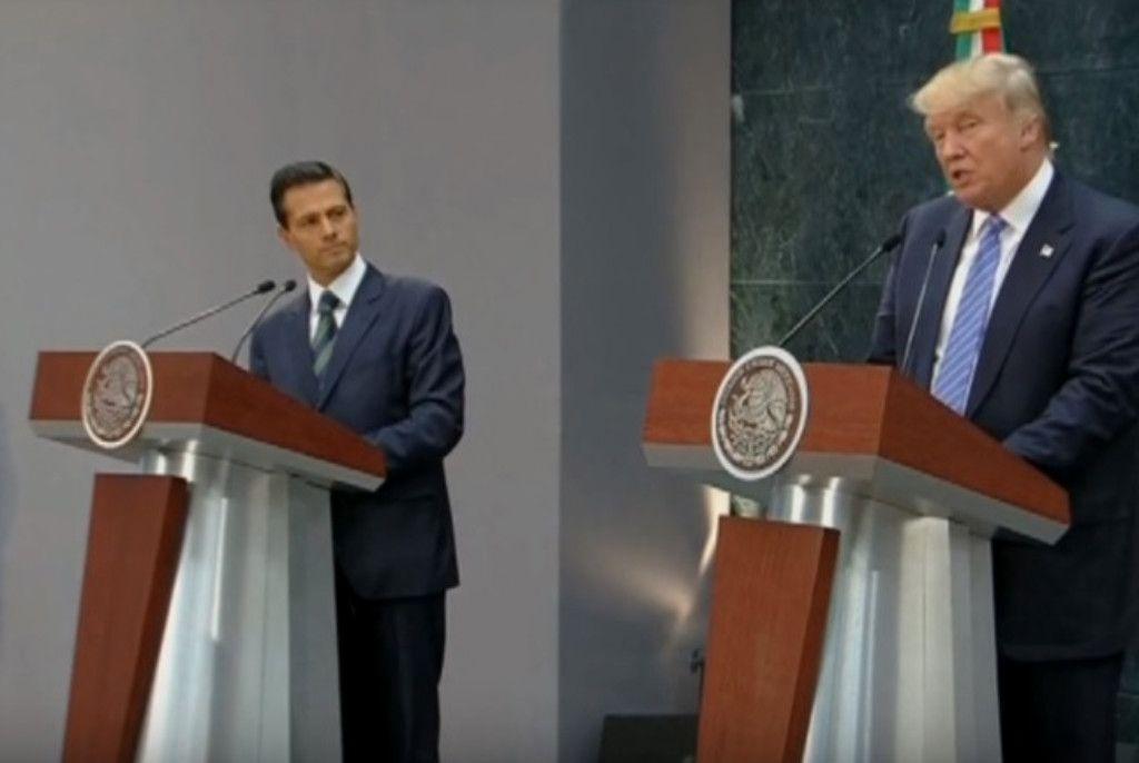 Defender a los mexicanos avalando a Trump