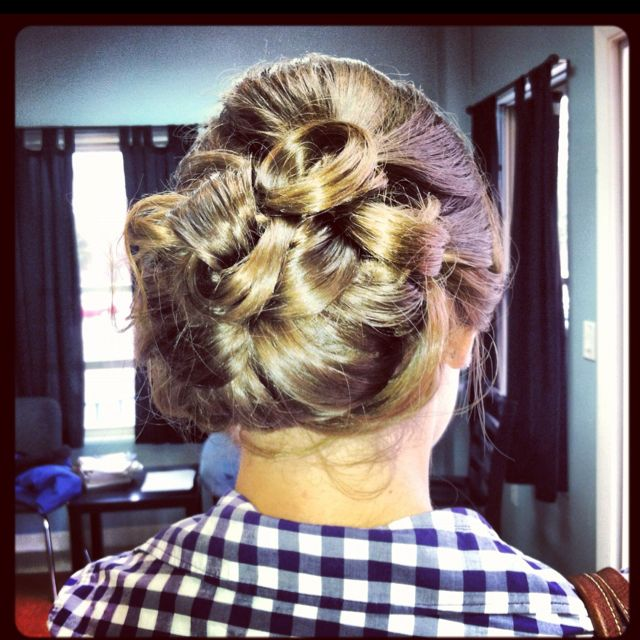 military ball hair hairstyle
