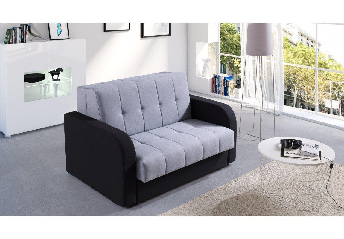 Haru Single Sofa Bed, Quartz Blue Single sofa bed chair