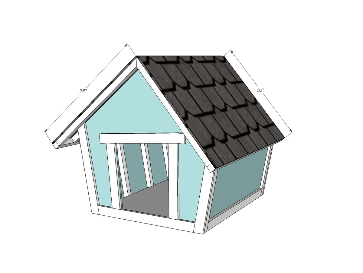 Crooked Doghouse Dog Houses Dog House Plans Sand Projects