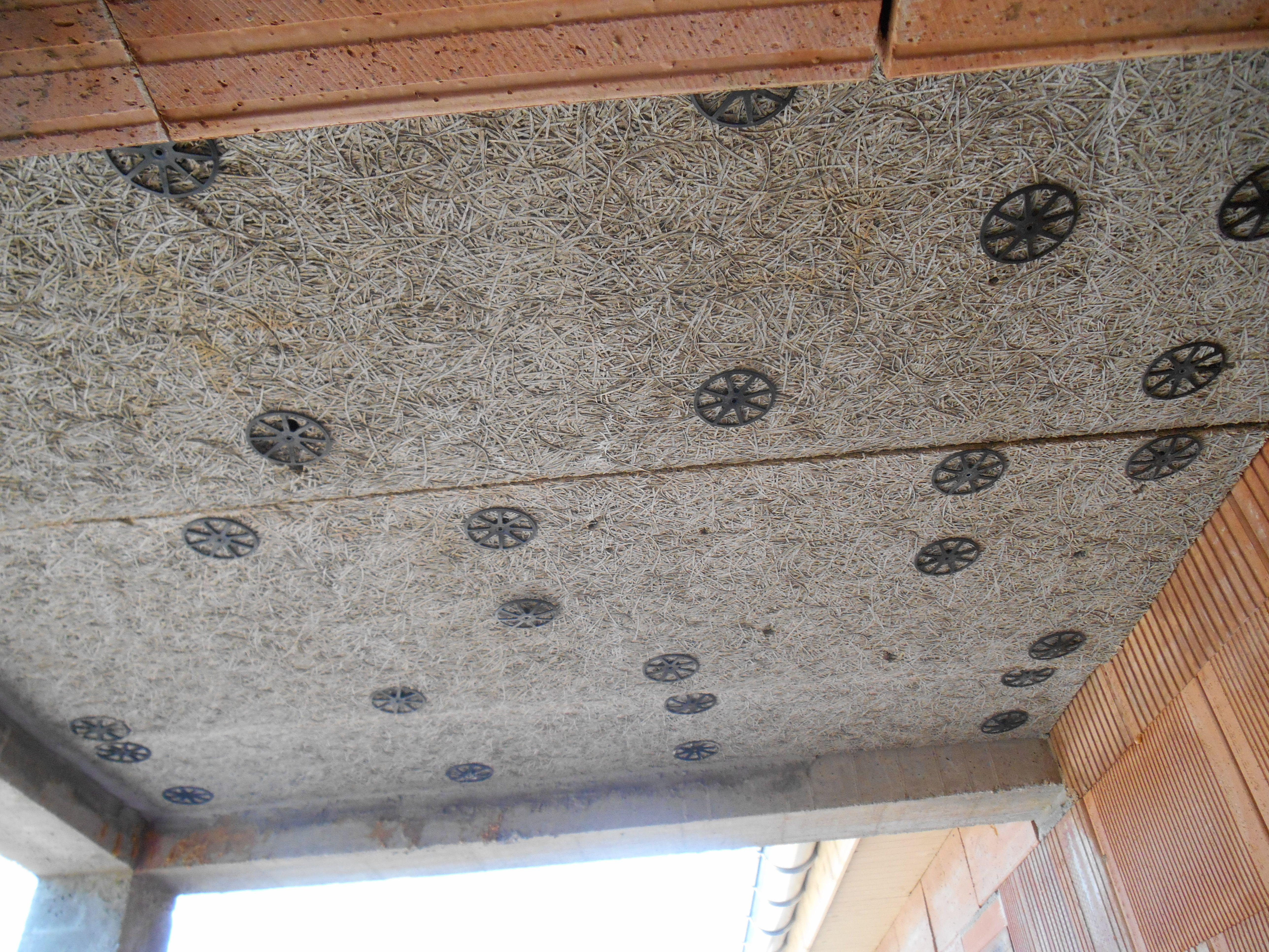 Isolation En Sous Face Du Porche Controlee Conforme Home Roman Shade Curtain Home Decor