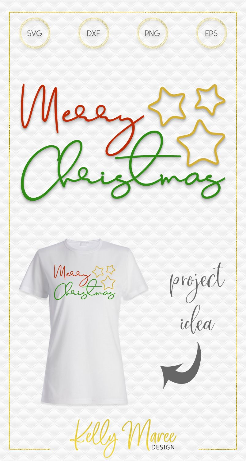Merry Christmas SVG File Christmas svg, Svg files for