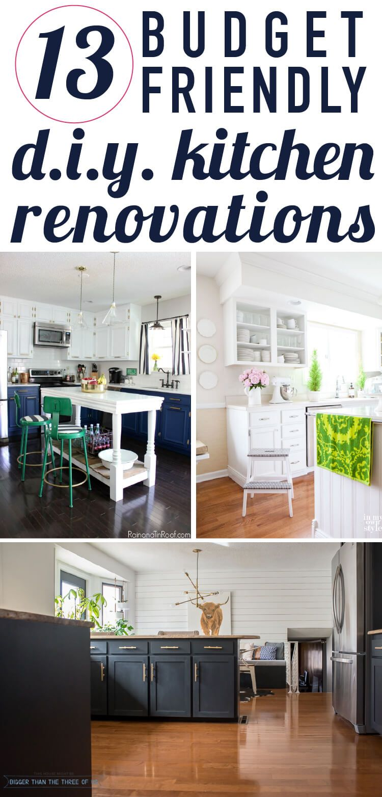 affordable diy kitchen renovation ideas diy decor diy kitchen rh pinterest com