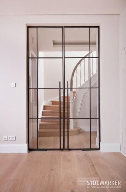 Best Entrance Door Steel Interiors 33 Ideas Loft Door Glass Doors Interior Interior Barn Doors