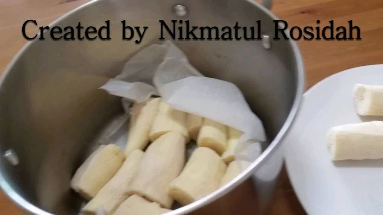 Cara Membuat Tape Singkong