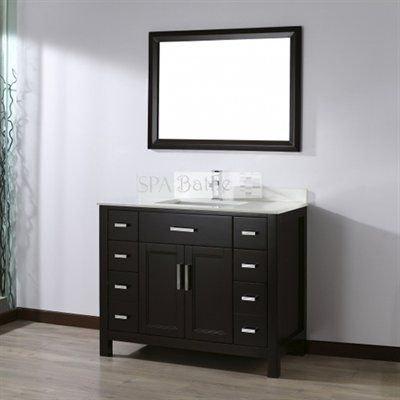 spa bathe kenzie series bathroom vanity lowe s canada home rh pinterest com