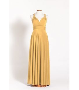 5cb0214fcc73e Mustard infinity maternity dress - Gala Essential | Mode in 2019 ...