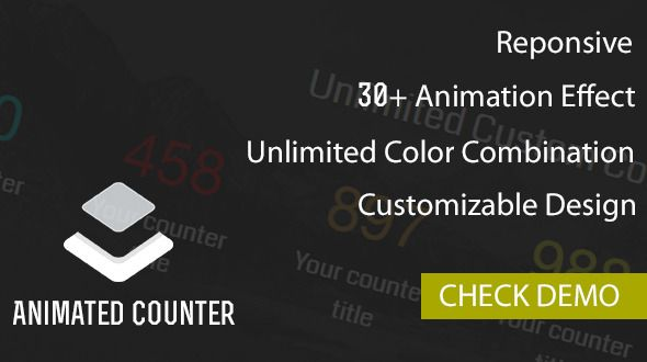 Layer - Animated Counter Extension  PS This plugin is compatible
