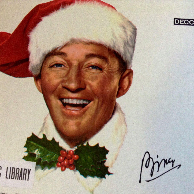 Bing Crosby Merry Christmas.Bing Crosby Merry Christmas Orig 1955 Decca Dl 8128 Black