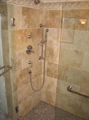 Travertine Shower Ideas travertine walk in shower ideas - google search | master bathroom