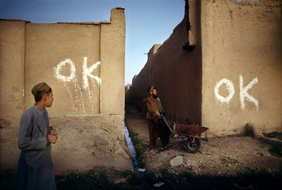 "Afghanistan ""OK"" indicates that landmines have been cleared"