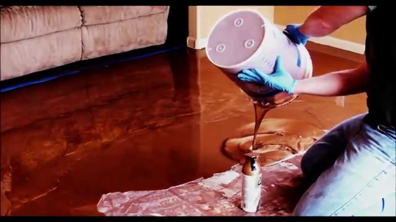 diy-overlaying and torching an epoxy floor | stuff to buy