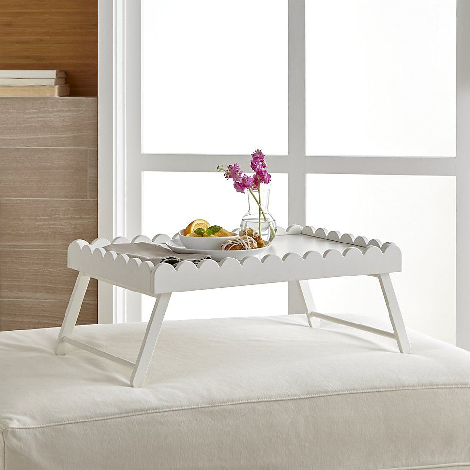 reese folding bed tray crate and barrel new house makeover rh ar pinterest com