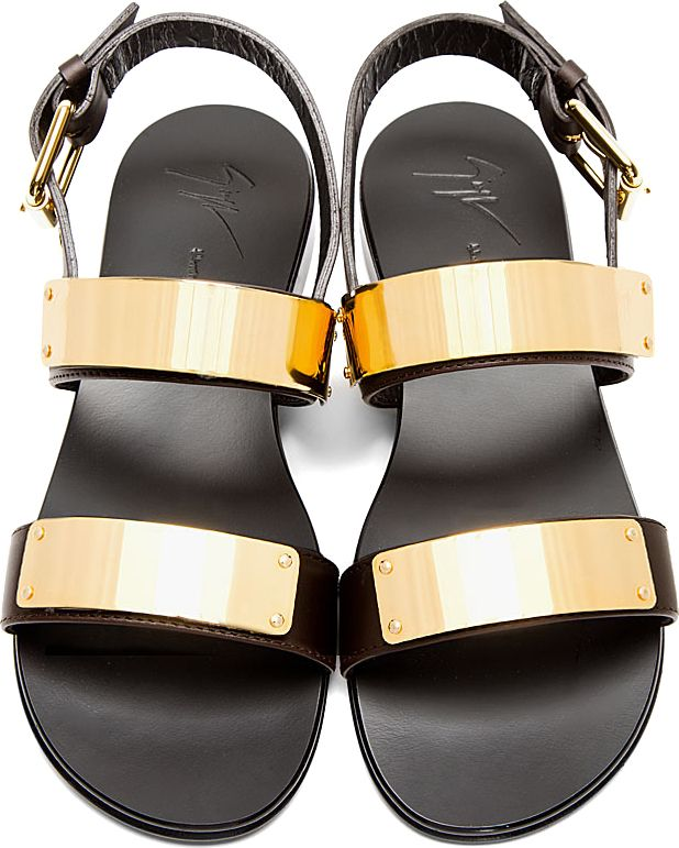 15935ed6526263 Gold-plated sandals