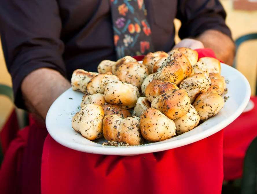 garlic knots from c o trattoria photo courtesy of cotrattoria com rh pinterest com
