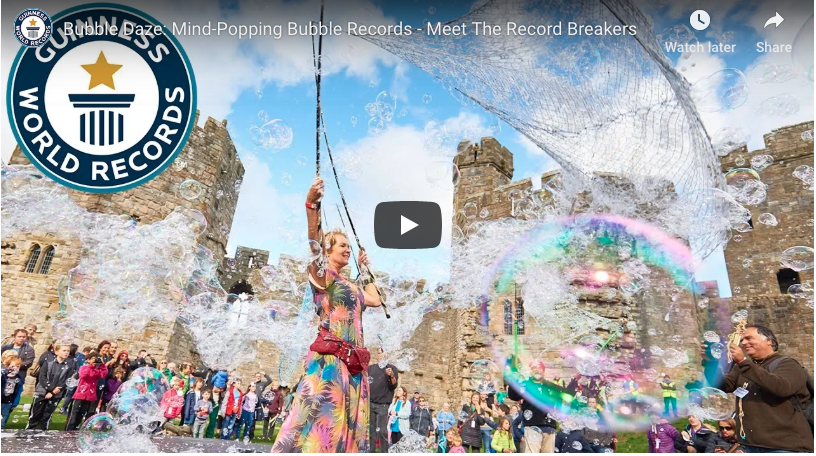 Majestic Bubble Festival Breaks World Records Epic Fail Pictures World Records Guinness Book Of World Records