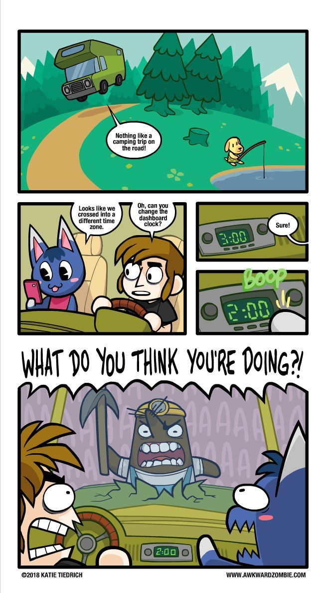 Mr Resetti does not understand the concept of time zones and everybody is too s  funnymal crossing