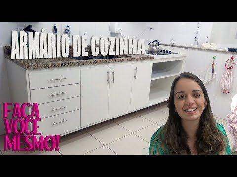 17 Como Fazer Armario De Cozinha Balcao Da Pia Rebeca