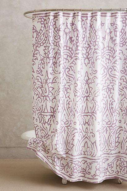 Anthrofave Purple Shower Curtain Anthropologie Shower Curtain