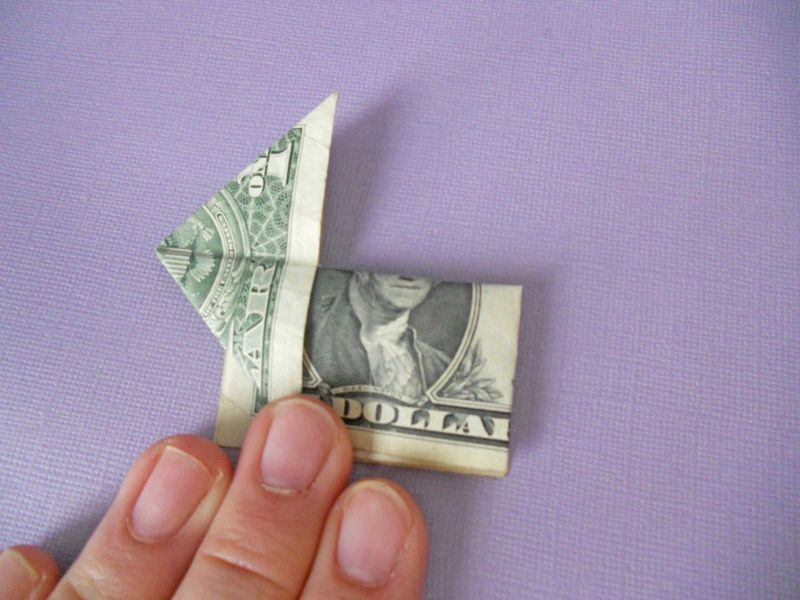 7 Simple Steps To An Adorable Money Origami Bunny Money Origami