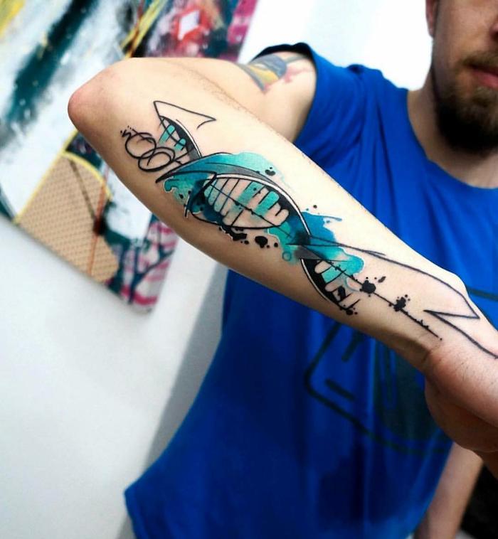1001 Idees Tattoos Tattoos Dna Tattoo Forearm Tattoos