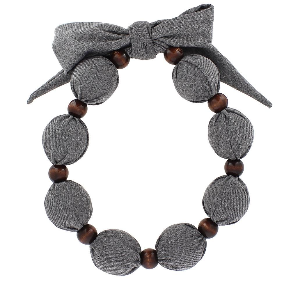 Cooling Necklace Solid Color Grey It Can Get Super Hot In Summer Where I Live There Are Many Times That I Need To Gray Jewelry Handcrafted Necklace Necklace