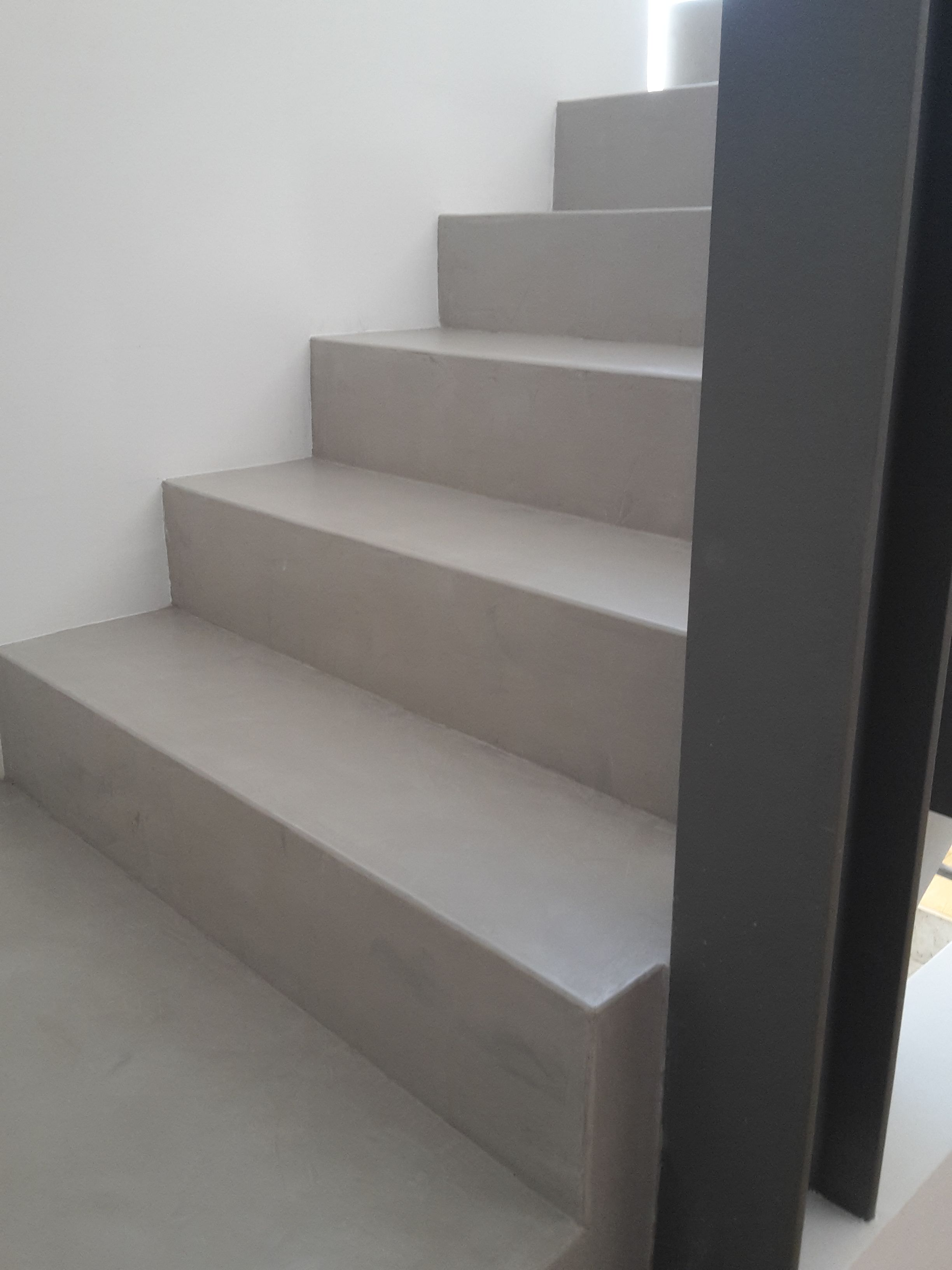 Exceptional Beton Cire Treppen Oberfläche
