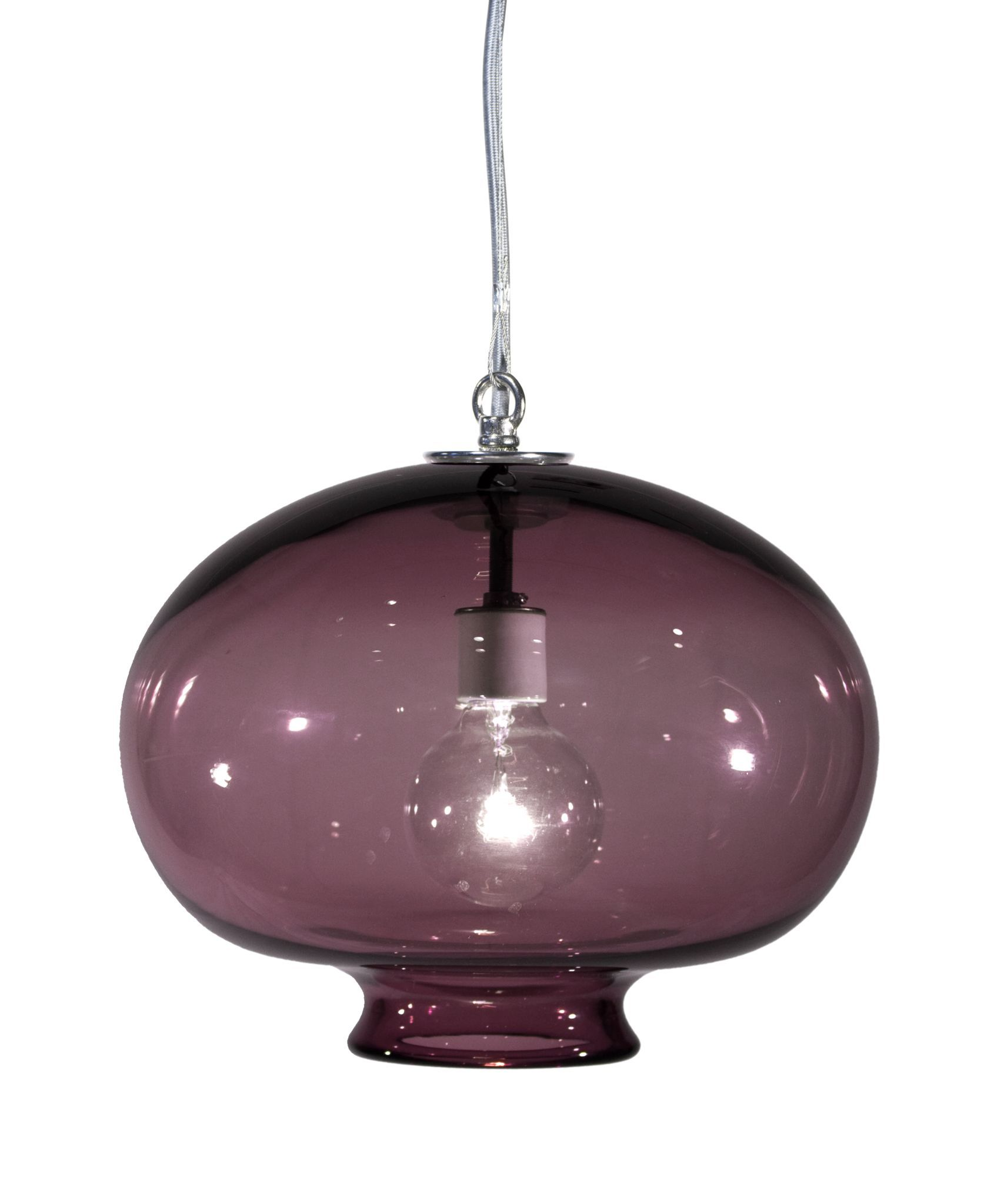 Tempo luxury versuvius lyra hand blown pendant lamp products