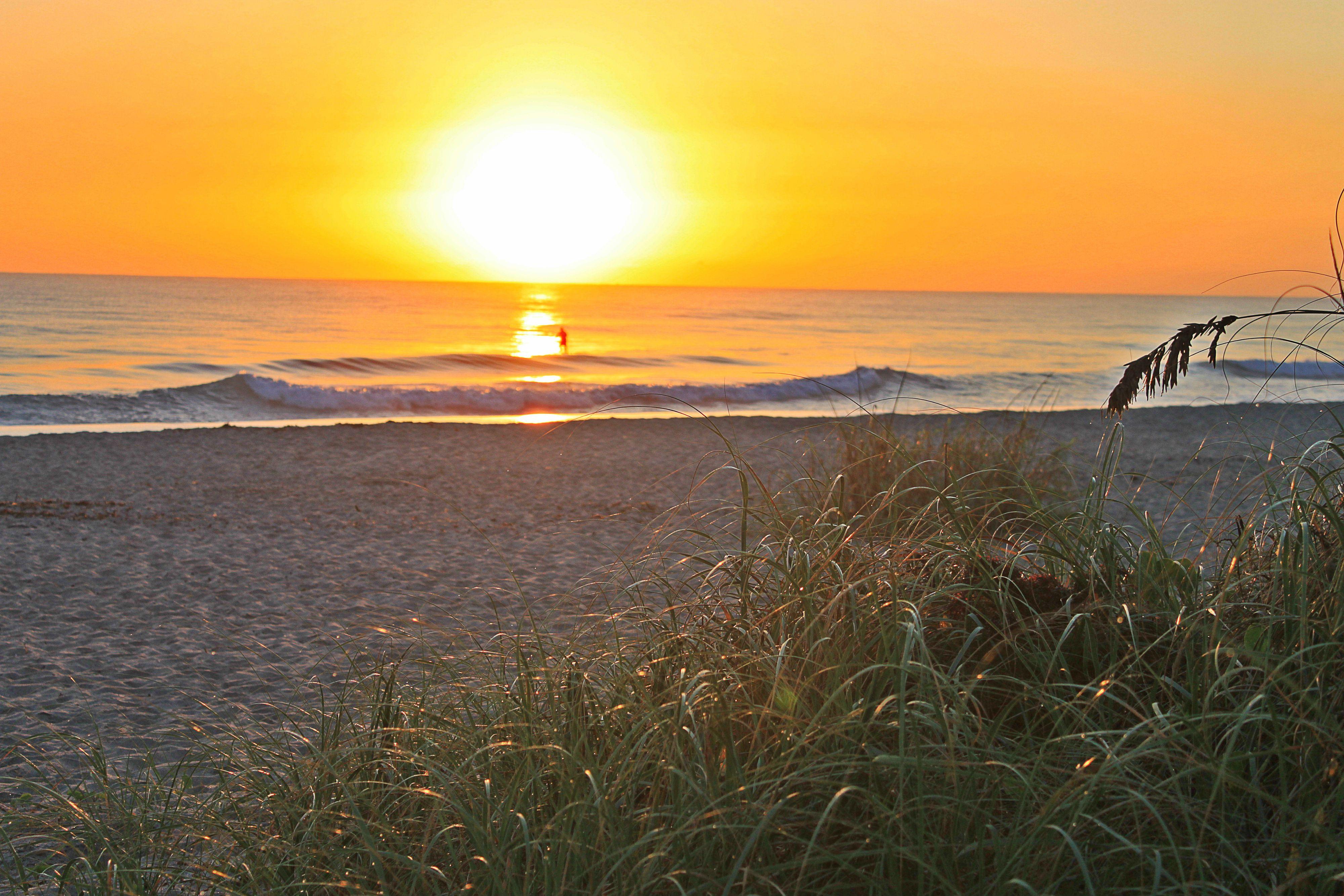 Sunrise at Kite Beach