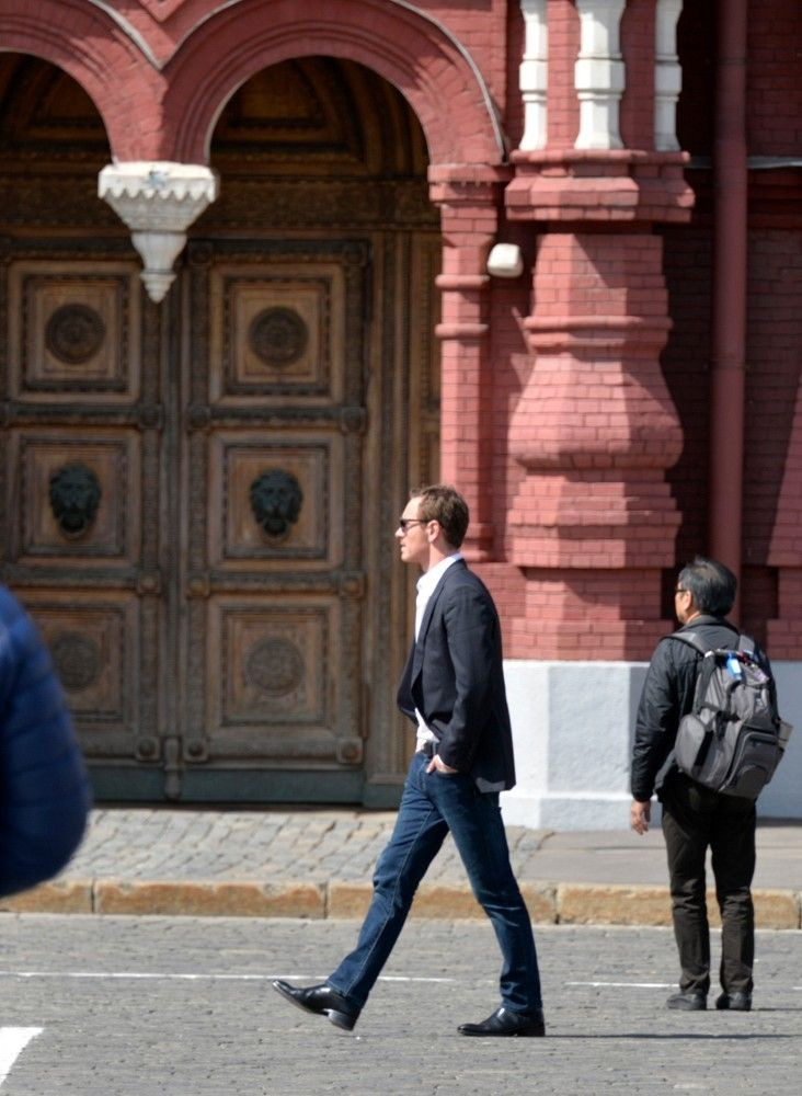 Walking in Moscow <3