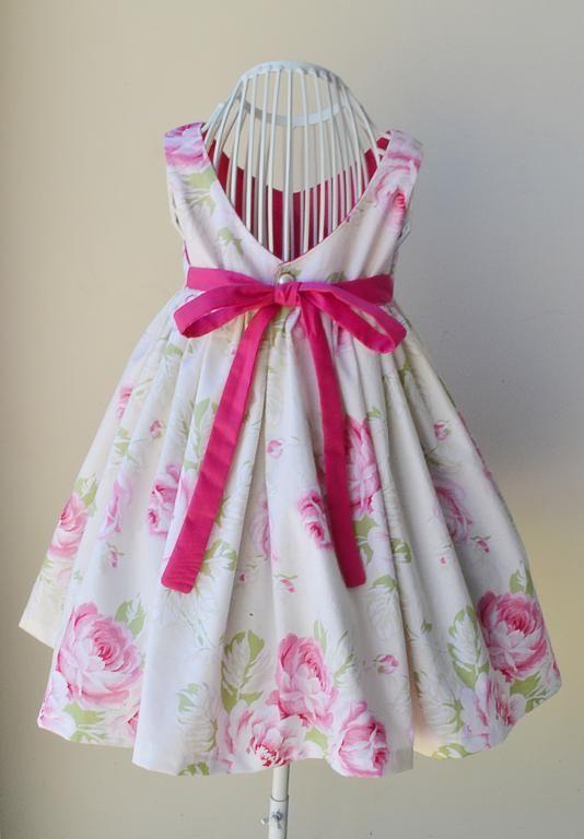 840b6a411 Gracelyn Dress PDF Pattern Size 2 to 6   dress anak   Pinterest ...