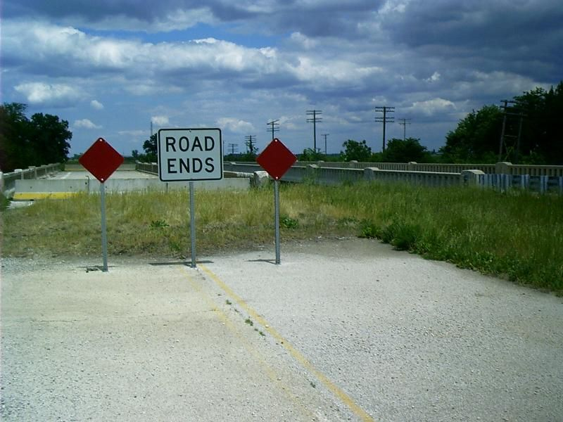 old route 66 Road Ends