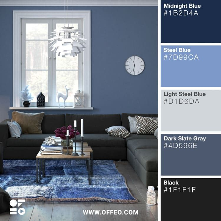 20 Modern Home Color Palettes To Inspire You Offeo House