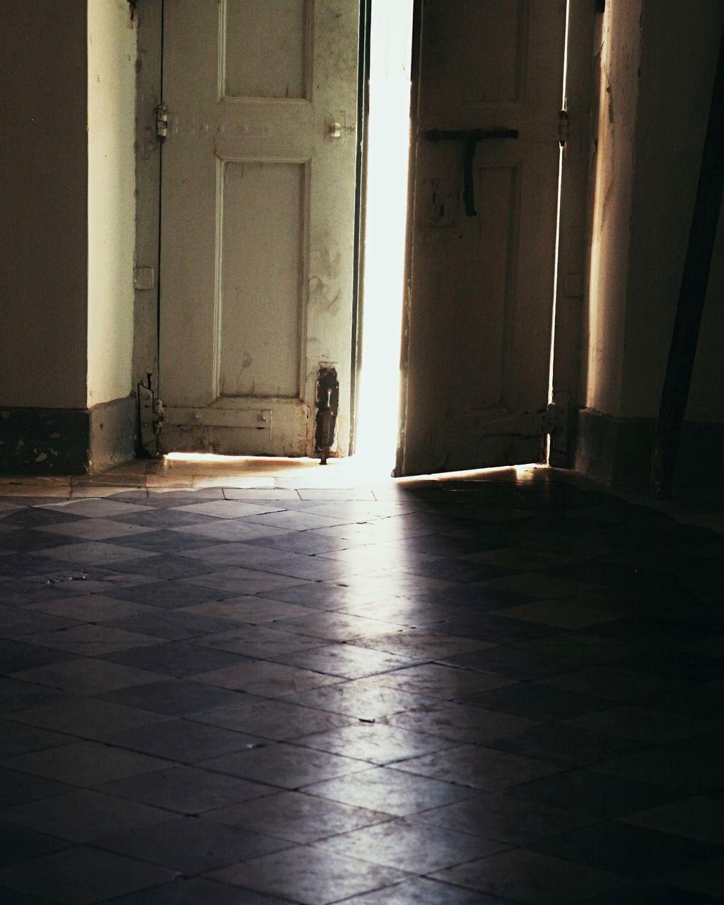 8 x 10 Photo - Dark Moody Mysterious Print - Behind the Door - Brazil Art Photo - Black Cream - Door Photography. via Etsy.
