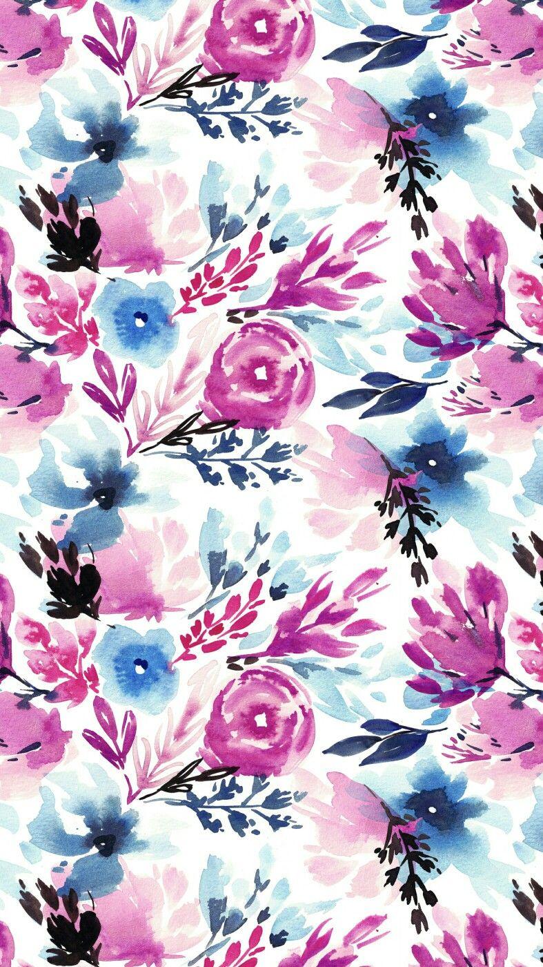 Pinterest Brittttx0 Watercolor Flower Background