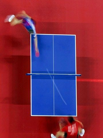 And here we have a table tennis shot captured by the @L2012TableCam at the #Olympics