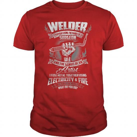 Awesome Tee Basic Life T Shirt - Welder Tshirt - Best cheap T ...