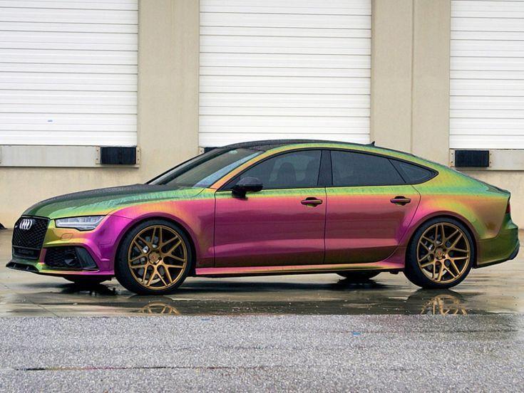 Audi RS 7 Sportback: película en aerosol de Autoflex - -