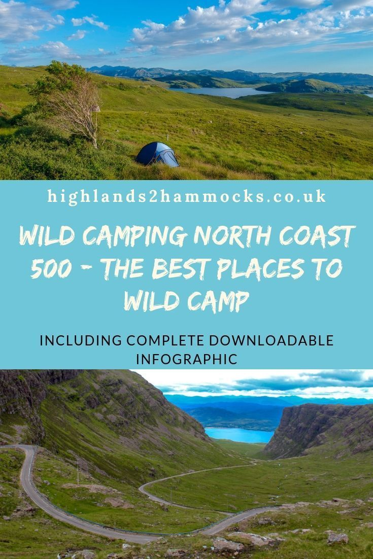 Wild Camping North Coast 500 - The 10 Best Places to Wild ...