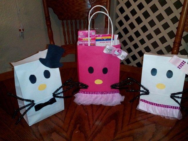 Hello Kitty favor bags