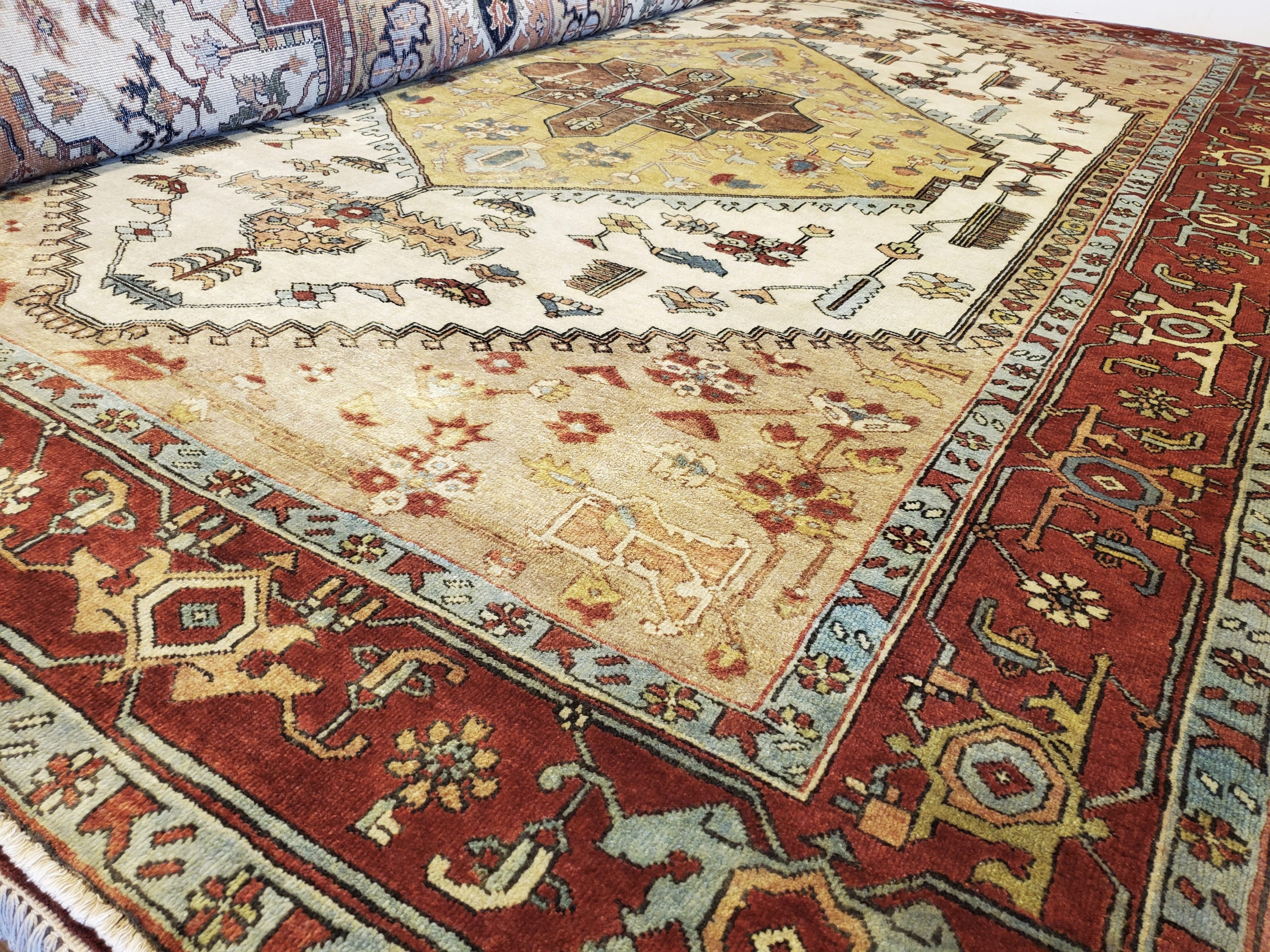 May Day Deal! 💃🏼 Vintage SERAPI Oriental Rug  9x12 $1975 reduce from $4950 Call 205-870-4444 or drop by if it's for you!  Please share! 😇 #nilipourorientalrugs #MayDayDeal #familybusiness #since1972 #fullservice #shoplocal #happycustomer #artyoucantreadon #orientalrug #rug #arearug #naturalfibers #wholesaleprices #directimporting #affordableluxury #functionalrug #practicalrug #appeal #qualityrug #investment #conversationpiece #Lifestyle #rugcleaning #orientalrugcleaning #arearugcleaning